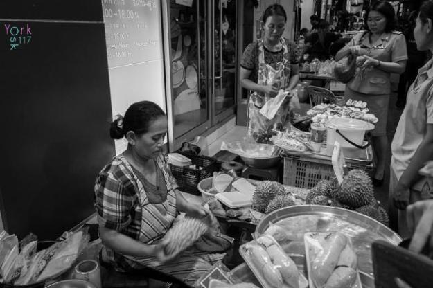 Nourriture de rue à Bangkok