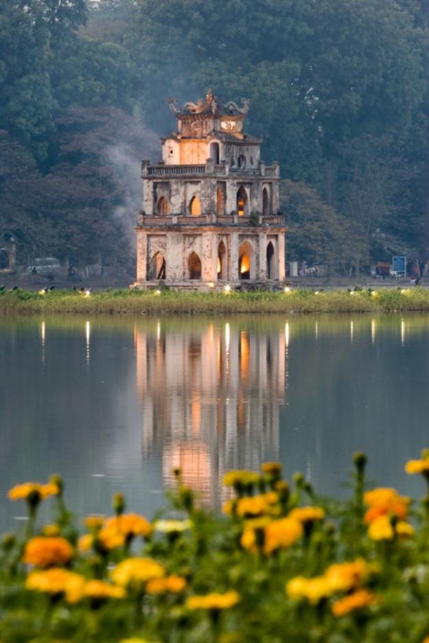 Lac Hoan Kiem - Hanoï