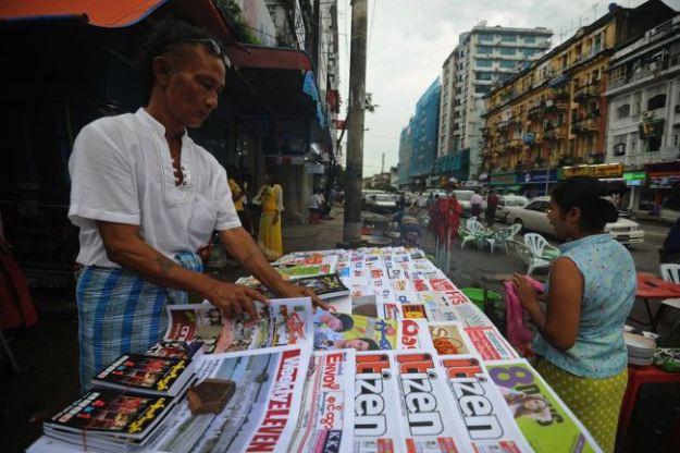 Journaux myanmar