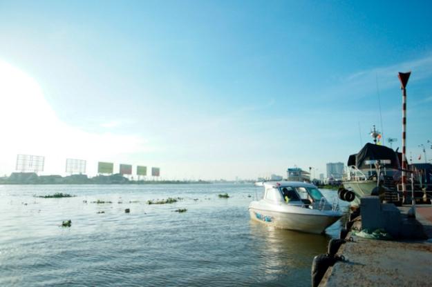 Hô Chi Minh City en bateau