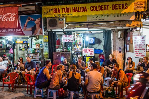 Restaurants de rues, Hanoï