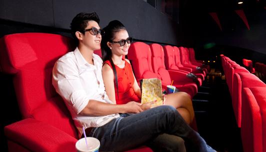 Siège couple, cinéma Vincom (Source: megastar.vn)
