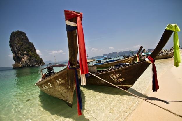 Plage de Krabi, Thaïlande