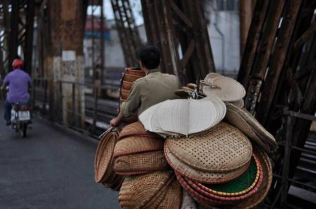 Vendeur de souvenirs, Vietnam