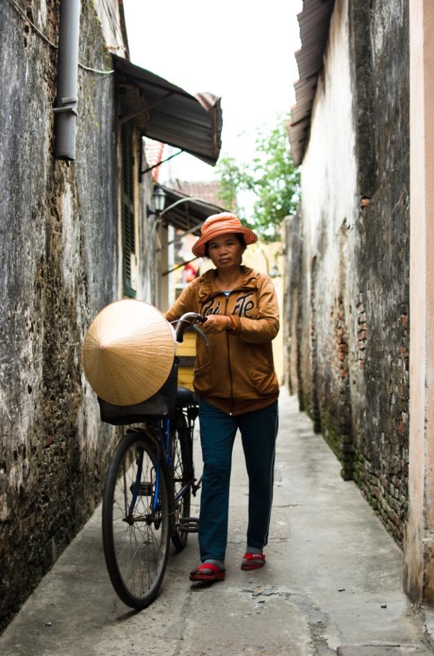 Vendeuse de légumes, Vietnam